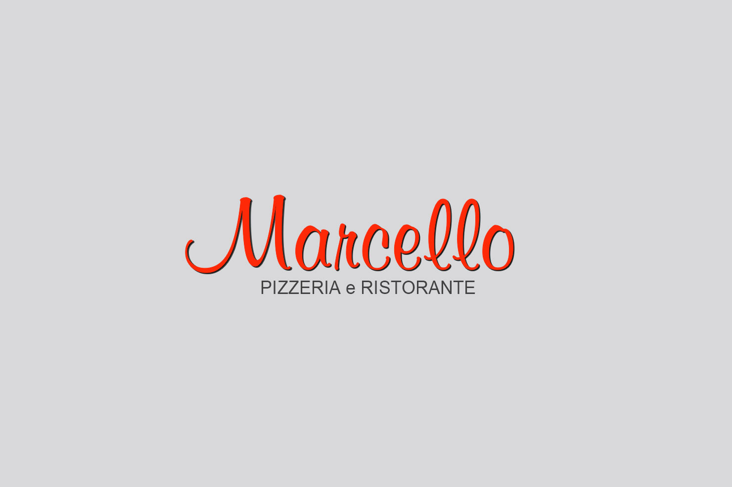 Marcello Pizzeria | Website