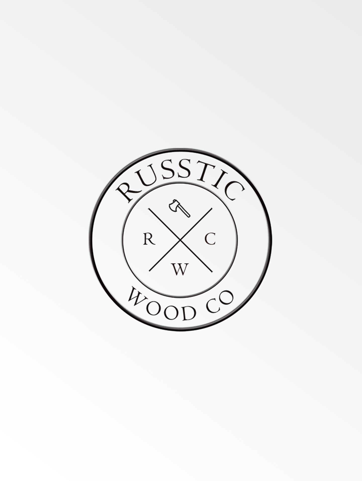 Russtic Wood Co. | Logo